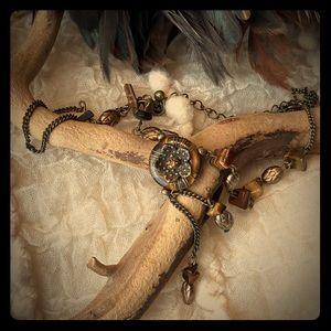 Nina Ricci for Avon Tigers Eye Necklace